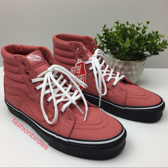 9636510a78 Vans SK8-Hi Reissue Black Outsole Faded Rose